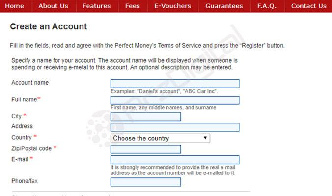 حساب پرفکت مانی برای سایت شرط بندی | چگونه حساب پرفکت مانی بسازیم؟