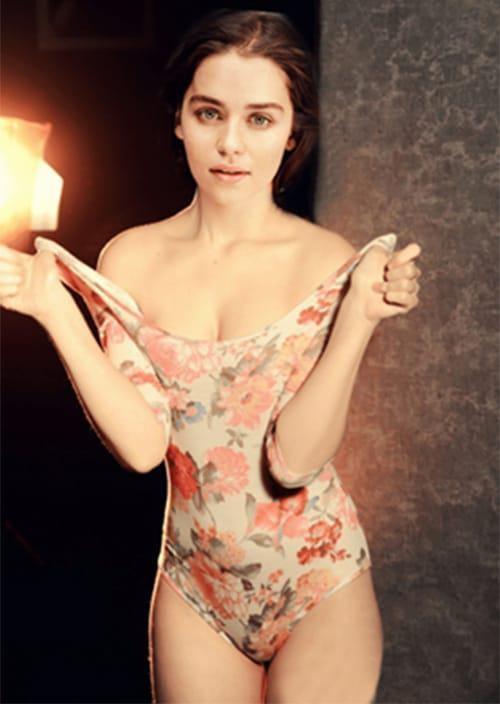 بیوگرافی و عکس های داغ امیلیا کلارک «مادر اژدها» 18+