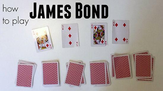 روش بازی ورق جیمز باند | آموزش بازی های پاسور