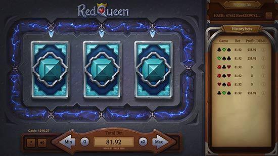 آموزش بازی ملکه قرمز آنلاین در سایت شرط بندی
