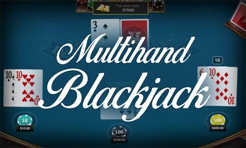 آموزش بازی بلک جک چند دستی Multihand BlackJack