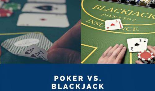 بلک جک یا پوکر؟ کدام بازی بهتر است و سود بیشتری دارد؟