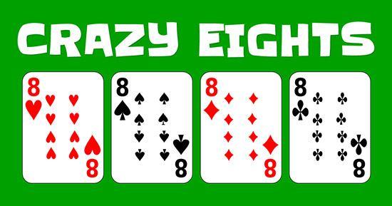 آموزش بازی هشت دیوانه Crazy Eights با پاسور + قوانین و ترفندها