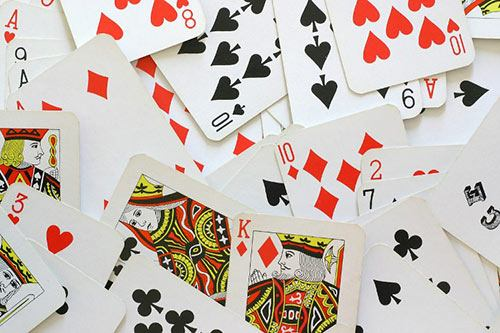 اسم ورق های پاسور به انگلیسی «Card Games»